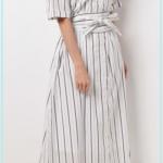 【愛ある】3話の川口春奈の衣装!ストライプのシャツワンピースやブルーのトップスはどこのブランド?