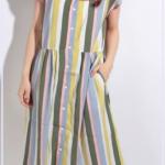 ウチの夫は仕事ができない7話衣装!松岡茉優着用のストライプや柄のワンピースはどこのブランド?
